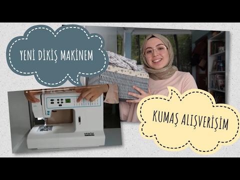 Dikiş Makinam ve Kumaş Alışverişim (smarter by pfaff 260C)