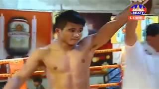 Khmer Boxing,  Moeun Sokhuch vs Chhoukchhaithai, Kun Khmer Boxing, SeaTV Boxing