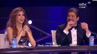 الفنانة شيرين عبد الوهاب بميدلي رائع من على مسرح عرب ايدول 2017 Arab idol