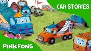 Competition in Mixie Land   Car Stories   PINKFONG Story Time for Children