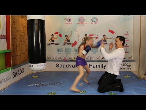 Amazing Boxing! The FASTEST GIRL, 2 years after triumph. CАМАЯ БЫСТРАЯ ДЕВОЧКА, спустя 2 года