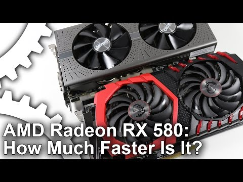 AMD Radeon RX 580 Review How Much Faster Is 2nd Gen Polaris