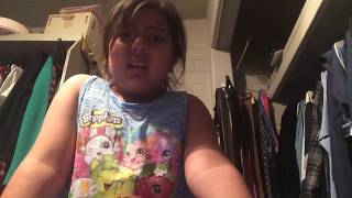 little girl farts on camera and says its a ghost!