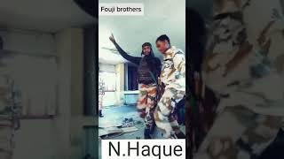 Fouji bhai ka dance.
