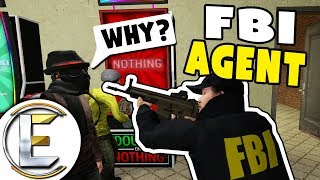 FBI Agent - GMOD DarkRP (Server Of Chaos And An Admin Purge)