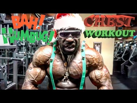 CHEST WORKOUT (CRAZY HOLIDAY RANT)