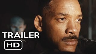 Bright Official Trailer #1 (2017) Will Smith Netflix Sci-Fi Movie HD