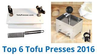 6 Best Tofu Presses 2016