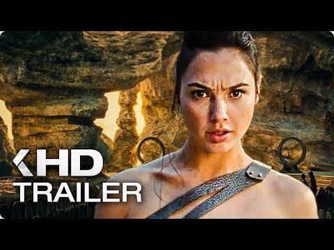 Wonder Woman ALL Trailer (2017)
