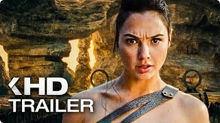 Wonder Woman ALL Trailer (2017)