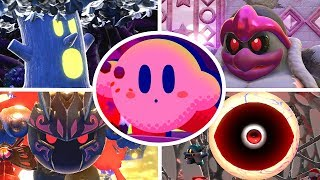 Kirby Star Allies - All EX Bosses + Ultimate Final Boss (Soul Melter EX Difficulty)