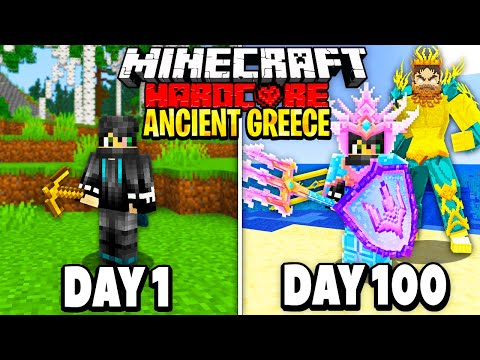 I Survived 100 Days in Ancient Greece on Minecraft Here s What Happened