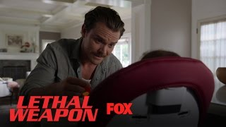 Martin Riggs Feeds Trish's Daughter | Season 1 Ep. 4 | LETHAL WEAPON