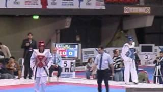 Campionati Italiani Taekwondo 2010  ( Finali  -87kg MOLFETTA  - 80kg SARMIENTO )