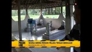 Astagfirullah!! Sepasang PNS Sekolah SD Kepergok Mesum di Kuburan - Police Line 11/08