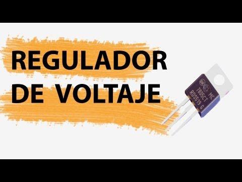 Regulador de Voltaje Funcionamiento y montaje de un circuito