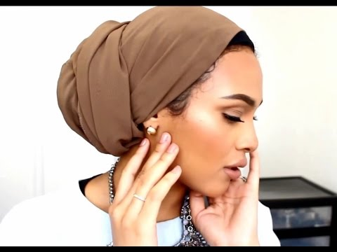 Turban Tutorial *Low Bun * as requested!:)