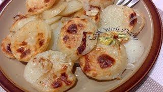 Homemade Boulangère Potatoes