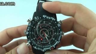 Waterproof Spy Fashion Watch Digital Video Recorder with Hidden Camera | Spy DVR Watch Review