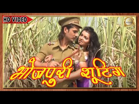 Xxx Mp4 भोजपुरी फिल्म शूटिंग फुटेज II Star Dharmesh Mishra Kalpna Shah II Bhojpuri Film Shooting 2015 3gp Sex