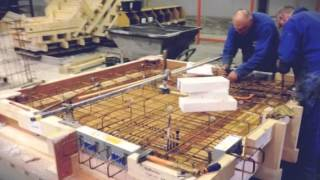 Vebo Beton fabrieksbezoek voor project Deltaplein Voorschoten