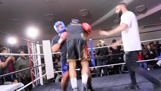 BOXING FIGHT TURNS TO REAL FIGHT!!