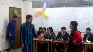 Download Mahfuj And Tahera Sultana Full (Natok) Class Party 2014 LLB 12Intake 3Gp Mp4