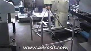 Steel Chair Polishing Robot - Fabricated Stainless Furniture