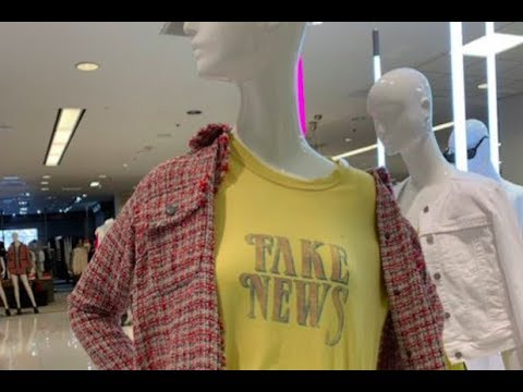 Xxx Mp4 Fake News Shirt Pulled From Store After Backlash 3gp Sex