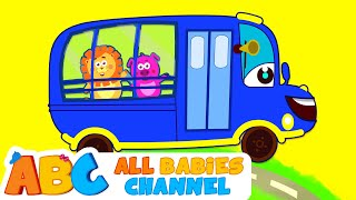 Wheels On The Bus Go Round And Round | Nursery Rhymes | Songs For Children | All Babies Channel