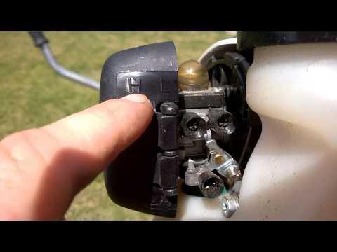 Регулировка карбюратора мотокосы своими руками видео
