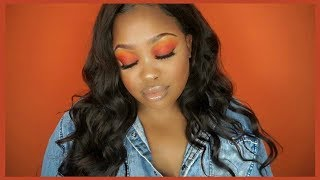 RED HOT | BLAC CHYNA INSPIRED MAKEUP