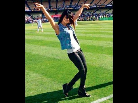 CRISTIANO RONALDO WITH PIRYANKA CHOPRA IN GROUND