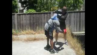 Gregor Strakl works on dirty boxing with D.T. Part 1