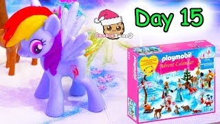 Playmobil Holiday Christmas Advent Calendar Day 15 Cookie Swirl C Toy Surprise Video