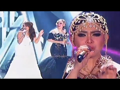 Ayu Ting Ting & Syahrini - Sambalado & Seperti Itu [Indonesia Television Awards 2016]