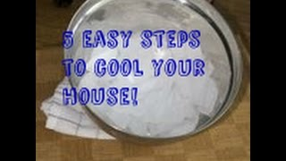 easy steps to cool your house down