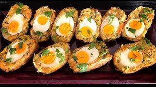 Chicken Aur Aloo Ka Nargisi Cutlets ( Ramadan Recipes)