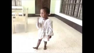 the most funny video of child singing a song