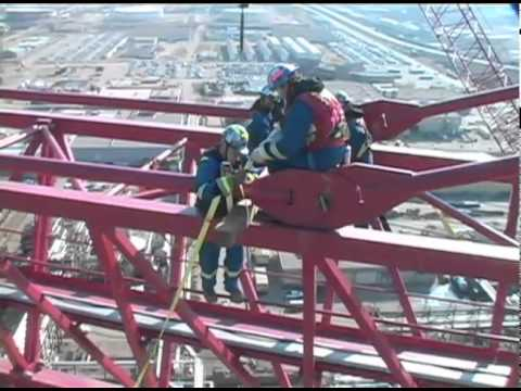 Dismantling the World s Largest Tower Crane