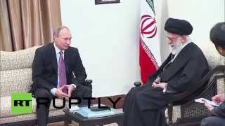 Iran: Putin meets Ayatollah Khamenei on sidelines of GECF summit
