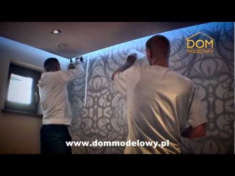 Dekoracje ścian Oryginalny Design Ed Wall Art w Domu Modelowym