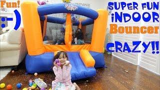 Children's Jumper Unboxing & Playtime with Hulyan & Maya! Blast Zone! Toy Channel