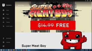 Super Meat Boy Free (Epic Games Store) Save $14.99