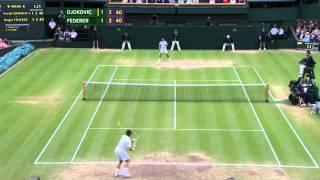 Roger Federer vs Novak Djokovic - Wimbledon 2012 Semi-Final - Highlights [HD]