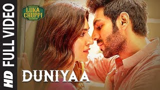 Luka Chuppi: Duniyaa Full Video Song | Kartik Aaryan Kriti Sanon | Akhil | Dhvani B