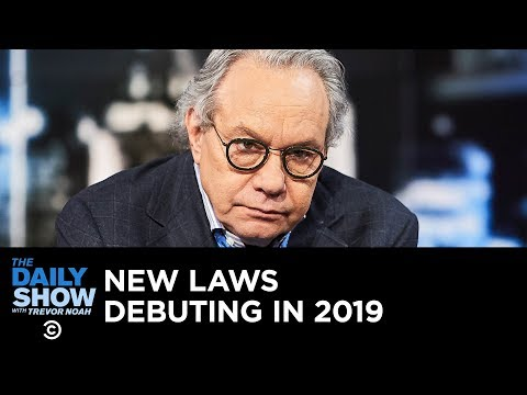 Xxx Mp4 Back In Black New Laws Debuting In 2019 The Daily Show 3gp Sex