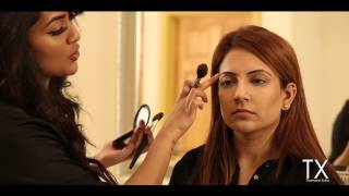 How to contour & highlight (Asian skin)   Chapter 2 of 7   Tutorials by Vithya Hair and Make Up