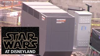 Disneyland - 1/16/18 Star Wars: Galaxy's Edge Construction Update