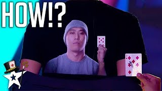 Card Magician Wows Judges on Mongolia